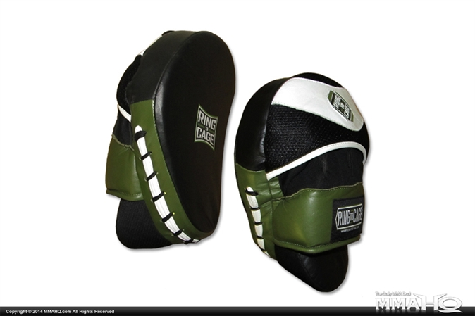 Ring to Cage Deluxe Curved Punch Mitts